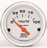 Ultralite OIL PRESSURE 0-100 PSI 2 1/16