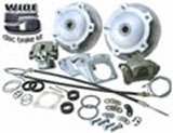 Wide 5 IRS 1969 and later Rear Disc Brake Kit with Parking Brakes